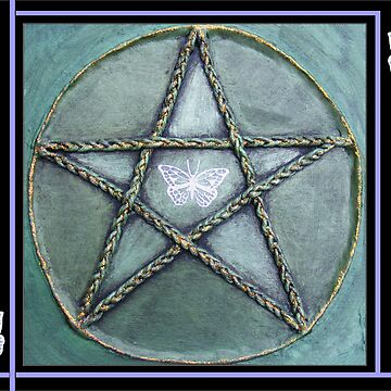 Butterfly Pentacle  by peyote
