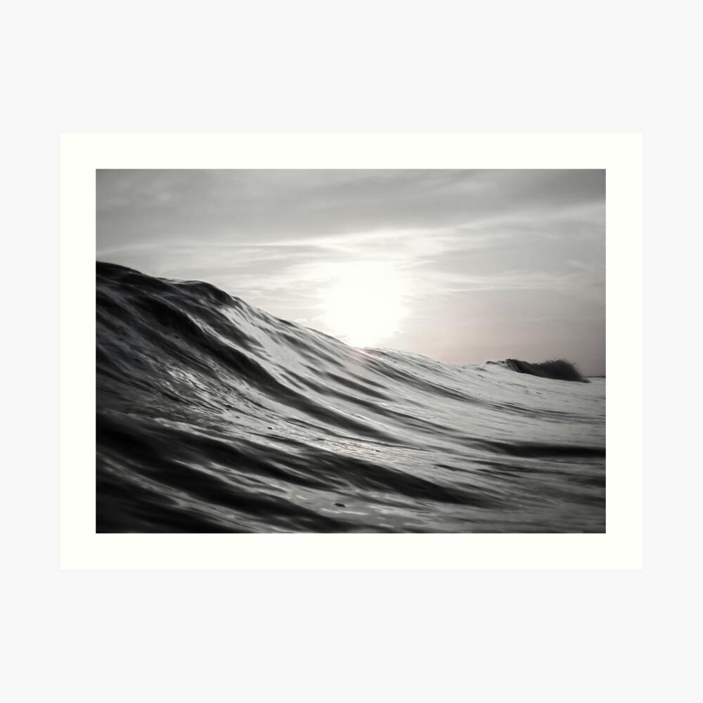 Bewegung des Wassers Kunstdruck