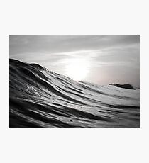 Motion of Water Photographic Print