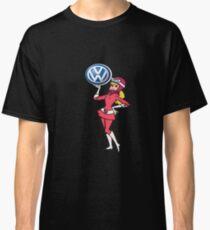 Penelope Pitstop Vw Logo Classic T-Shirt