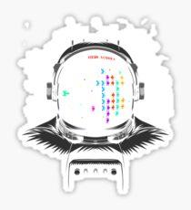 Martians Astronaut Sticker