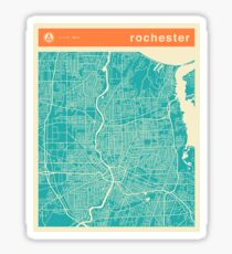 ROCHESTER MAP Sticker
