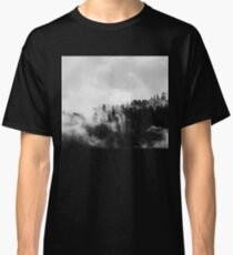Black & White Misty Forest Classic T-Shirt