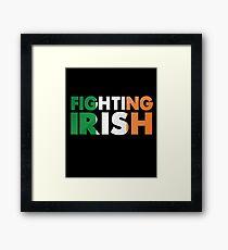 MMA BJJ Apparel - Fighting Irish Framed Print