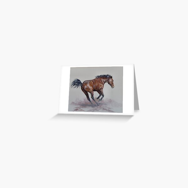 Zed at play Greeting Card