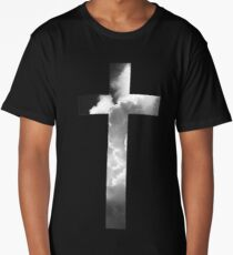 Christian Cross Long T-Shirt