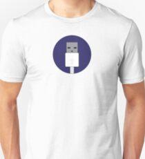 USB icon Unisex T-Shirt