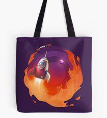 Itty Bitty Stars - Rocket Blast Tote Bag