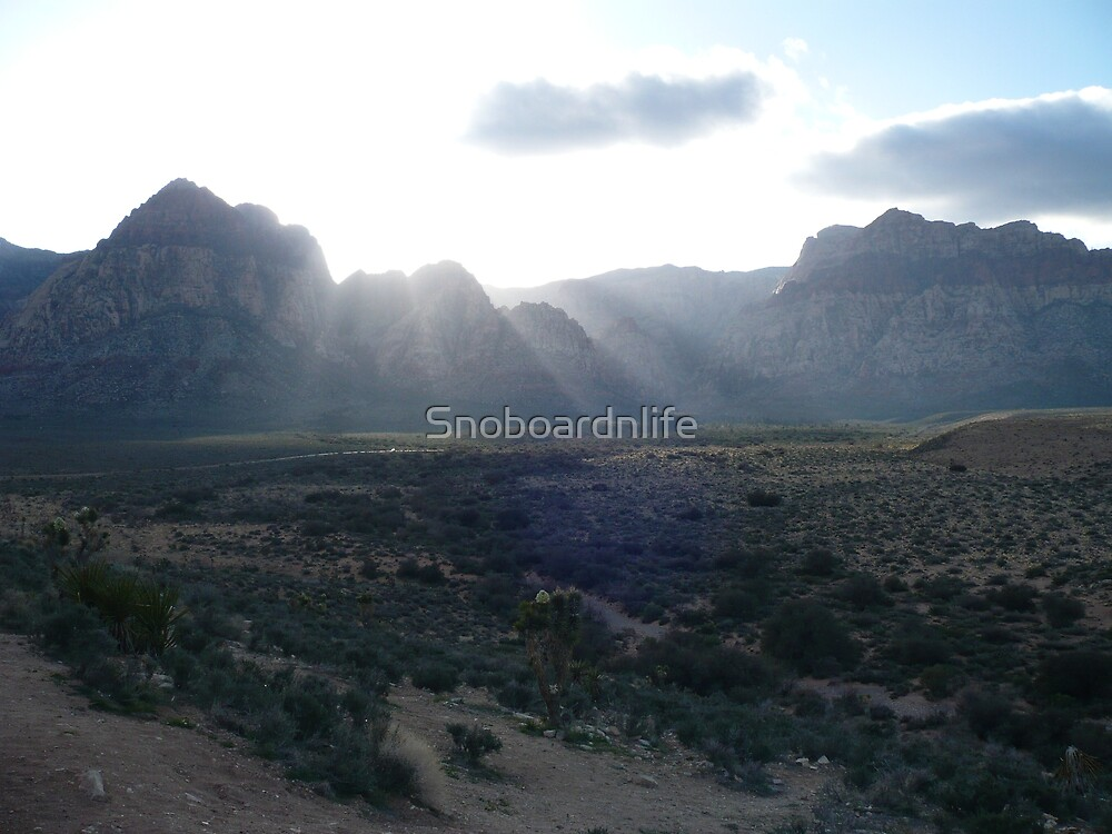 Red Rock Overview (Didtal) #2 by Snoboardnlife