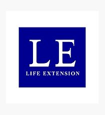 LE, Life Extension Photographic Print