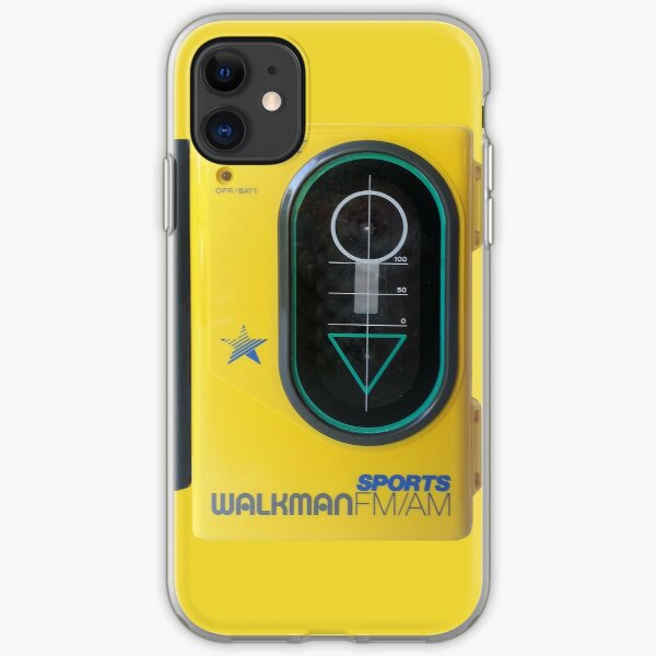Sony Sports Walkman iPhone Soft Case