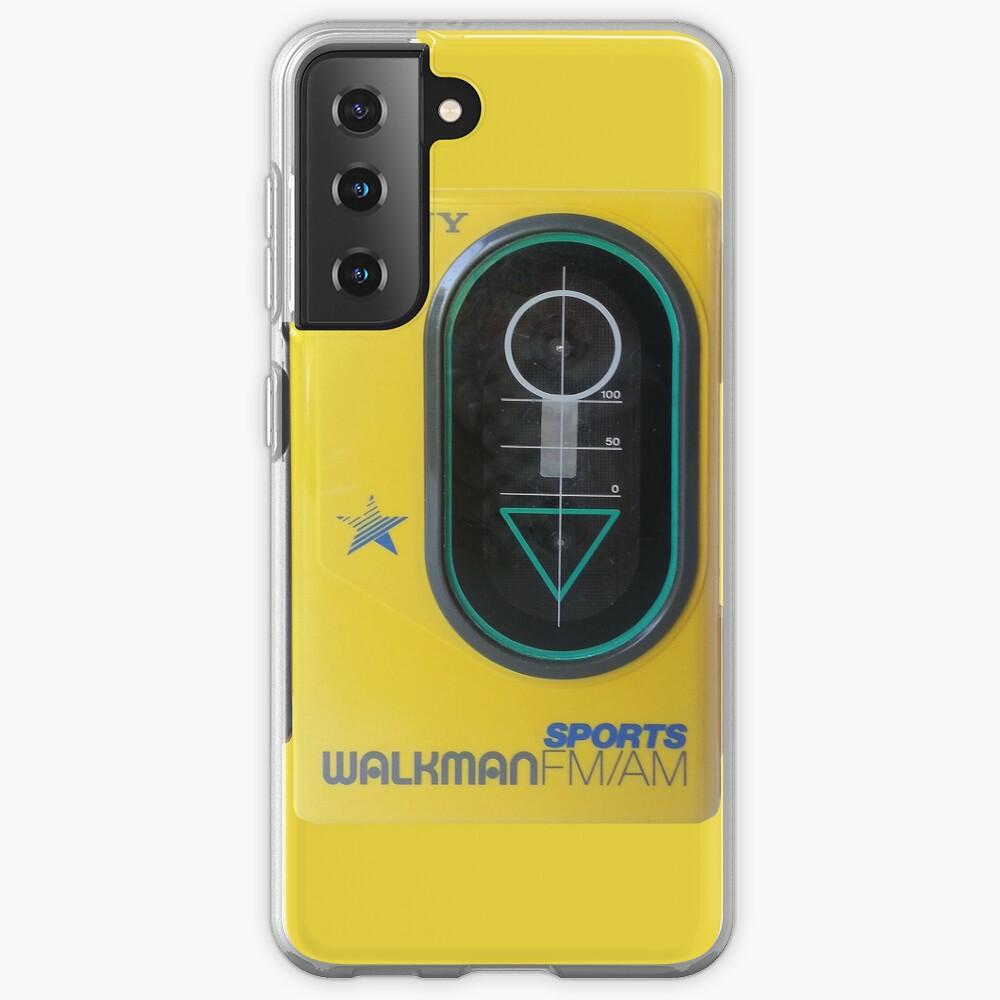 Sony Sports Walkman Case & Skin for Samsung Galaxy