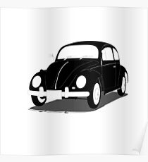 Beetle classic car Poster