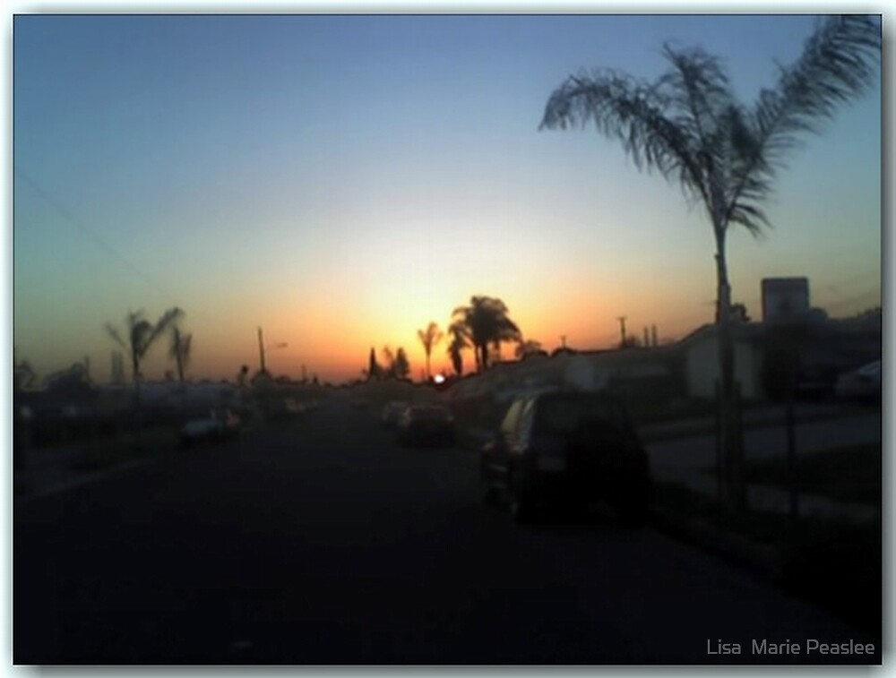 Goin back to Cali by Lisa  Marie Peaslee