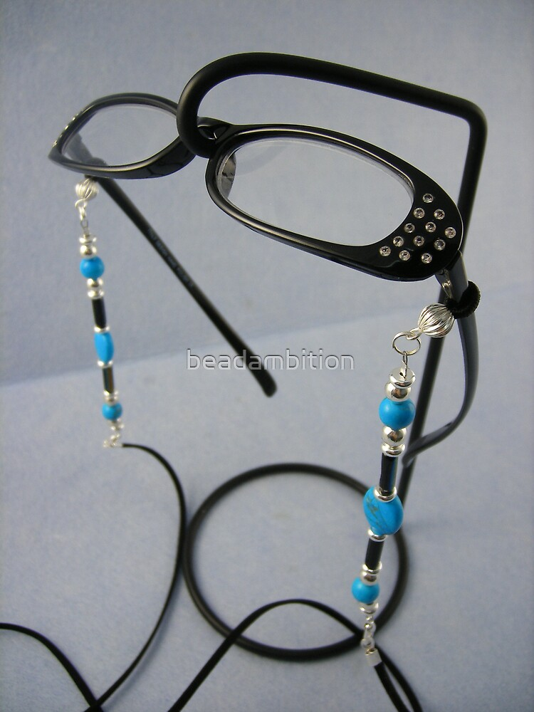 Funky Beaded Sunglasses by beadambition