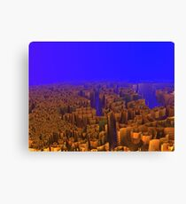 The Over Population of Utopia Canvas Print