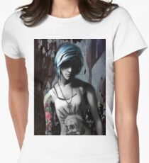 Chloe between death and life (is strange) Womens Fitted T-Shirt