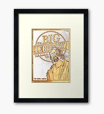 the big lebowski Framed Print