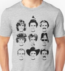 The Many Faces of Will Unisex T-Shirt