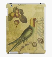 Parrot with Plums iPad Case/Skin