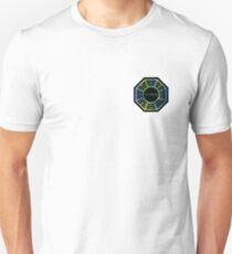 Green and Blue Dharma Initiative Design Unisex T-Shirt
