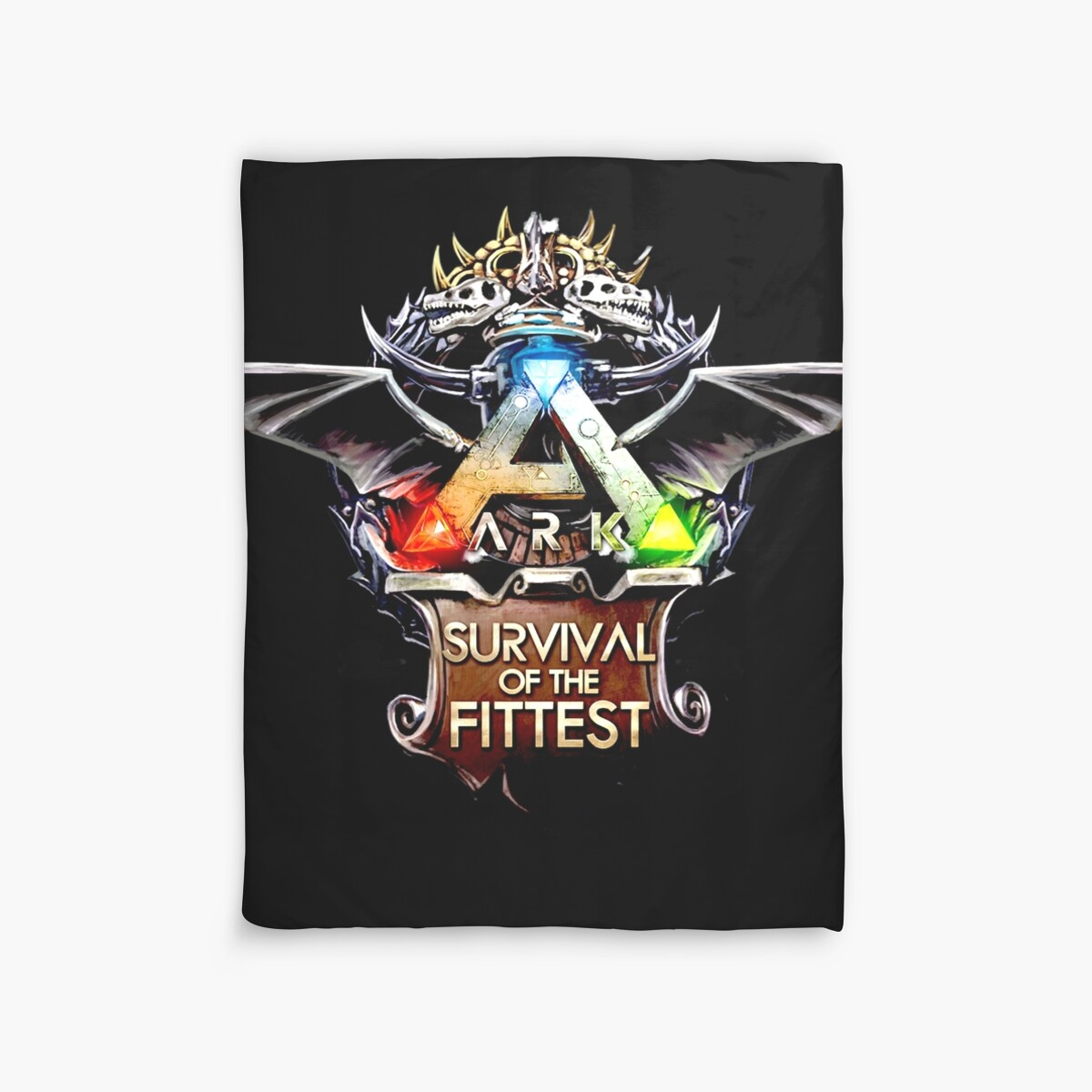 Quot Ark Survival Evolved Quot Duvet Covers By Yonostage Redbubble