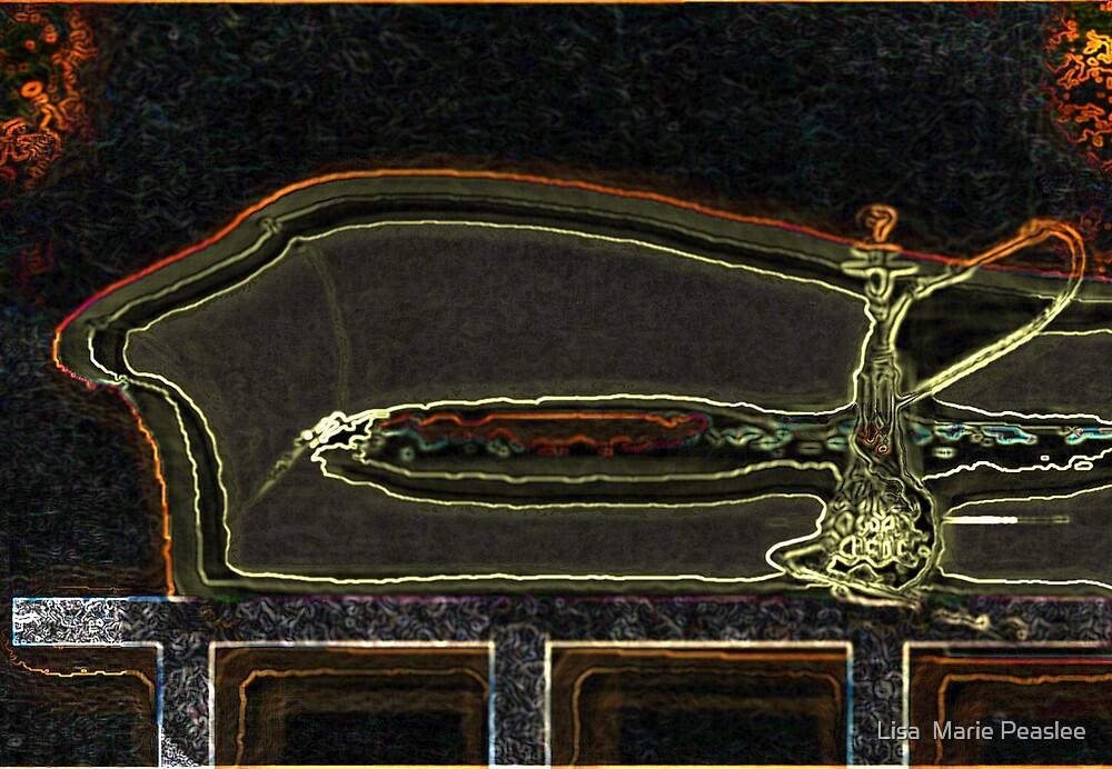 Hookah Room by Lisa  Marie Peaslee