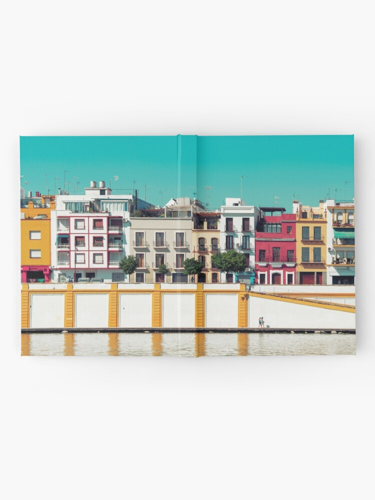Vista alternativa de Cuaderno de tapa dura Triana, la bella