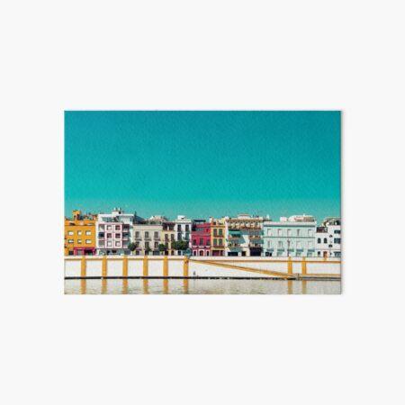 neben dem Fluss Guadalquivir Galeriedruck