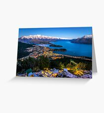 Queenstown Glow Greeting Card