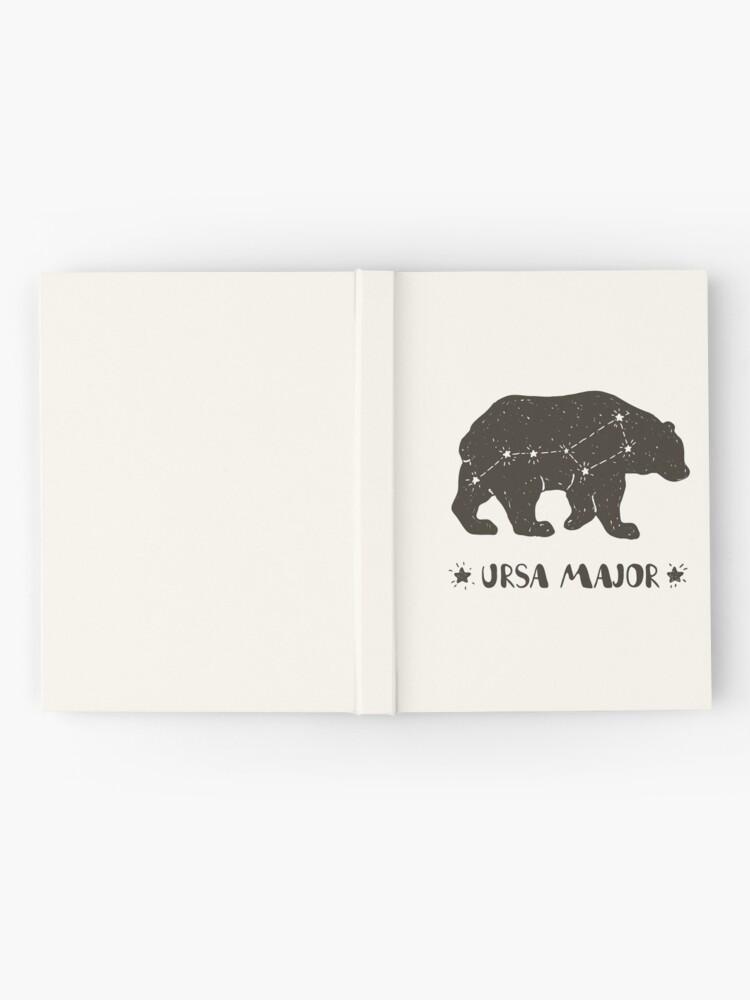 Alternative Ansicht von Ursa Major Notizbuch