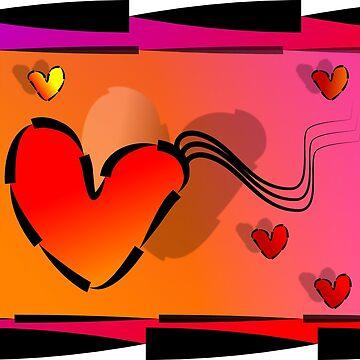 SHINY HEARTS by aquinavortex