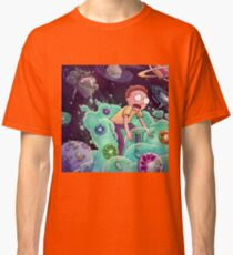 Rick and morty fart Classic T-Shirt