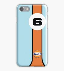Gulf Racing  iPhone Case/Skin