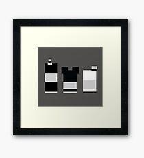 Retro Trio Framed Print