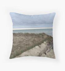 Beach Paths of Cape Cod  Throw Pillow