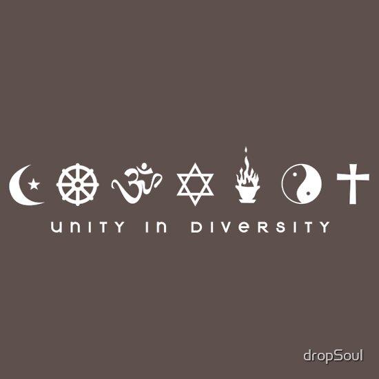 TShirtGifter presents: Unity In Diversity Spirit Alternate