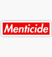 Menticide Sticker