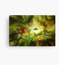 Fantasy Painting Landscape Mystical Canvas Print