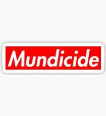 Mundicide Sticker