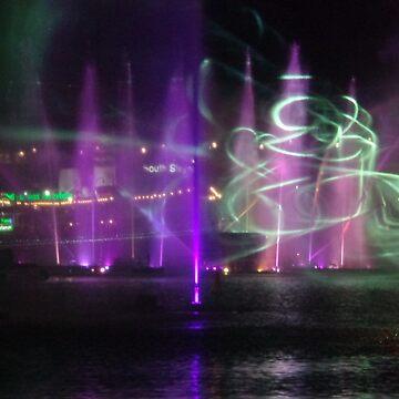 VIVID Darling Harbour Light Display by KazM