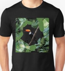 Toucan and leaves Unisex T-Shirt