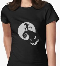 Nightmare before Alien Women's Fitted T-Shirt