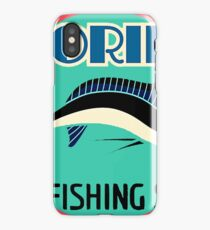 Florida, fishing state, travel sticker iPhone Case
