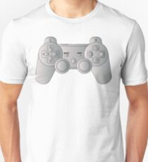 Video Game Inspired Console Playstation Dualshock Gamepad T-Shirt