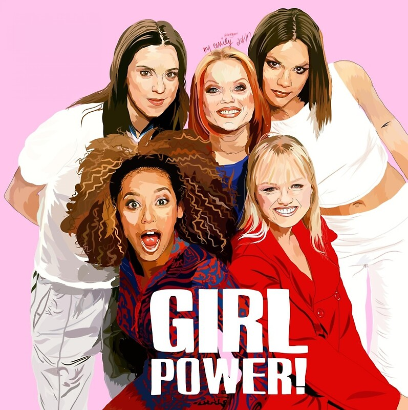 Quot Spice Girls Girl Power Quot Photographic Prints By