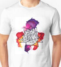 watercolour pen dot work T-Shirt