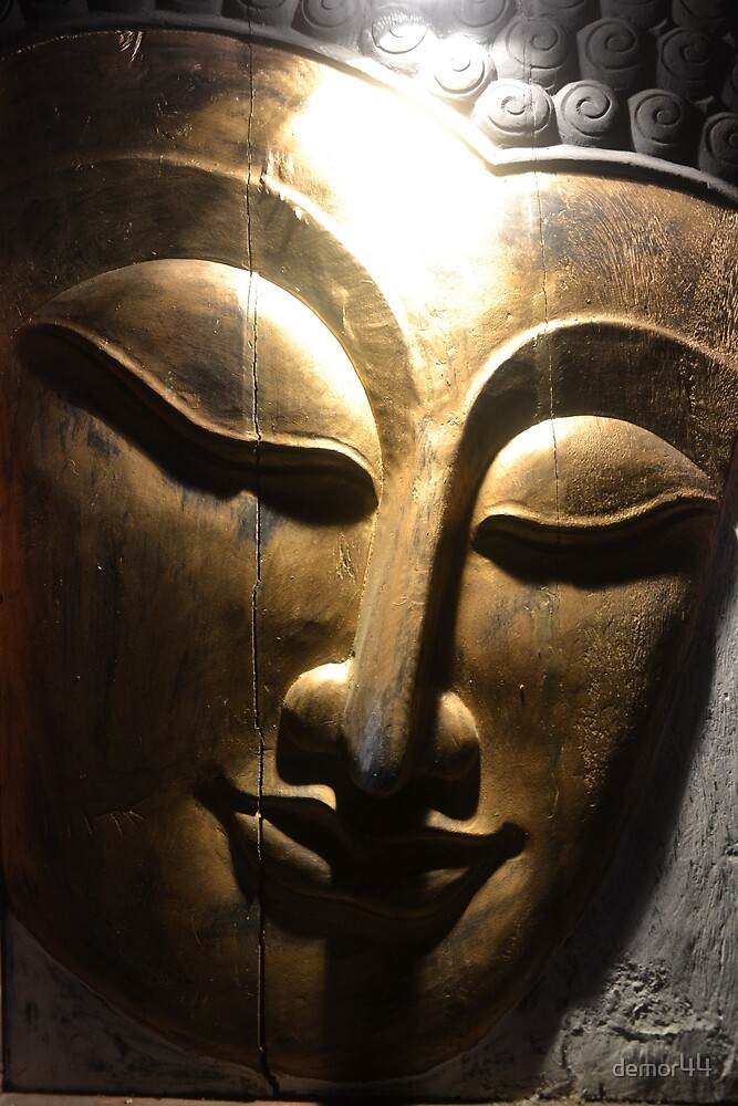 Buddha face by demor44
