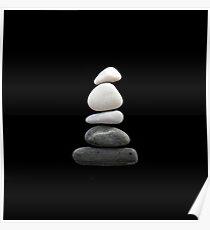 balance [pebble art] Poster