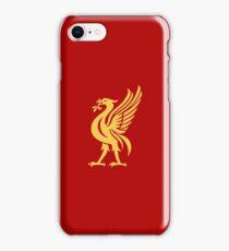 Liverpool Liverbird Design - Red & Yellow iPhone Case/Skin